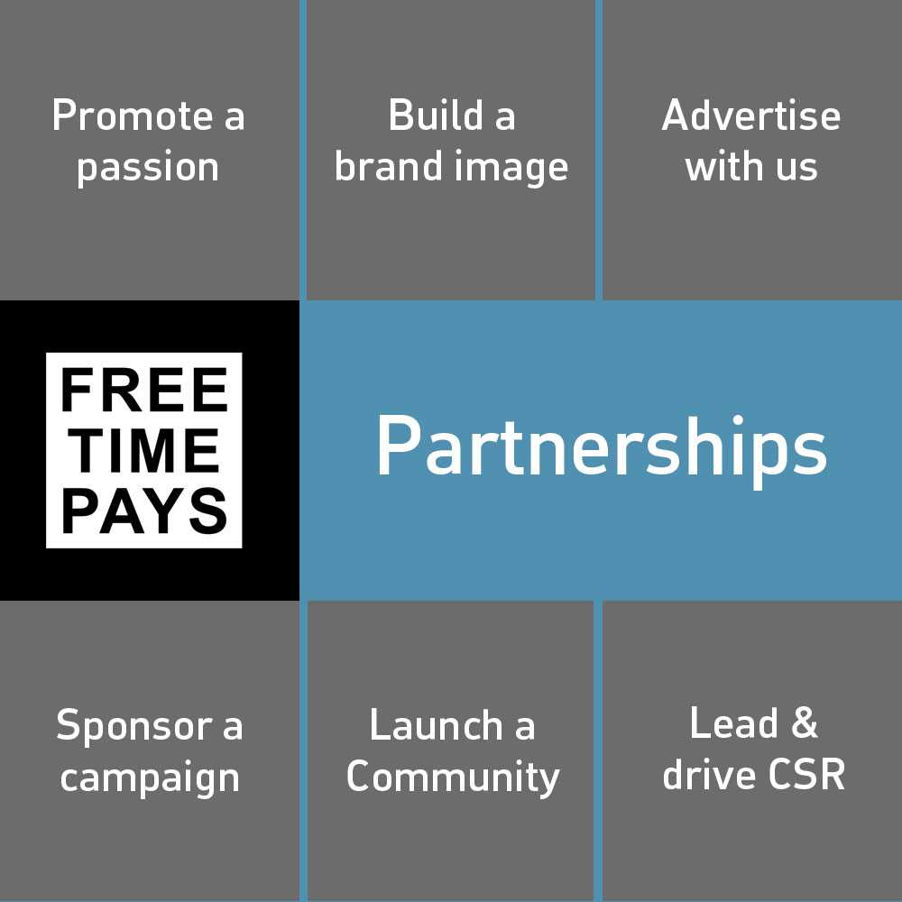 Connect with FreeTimePays for social impact, economic growth and community engagement