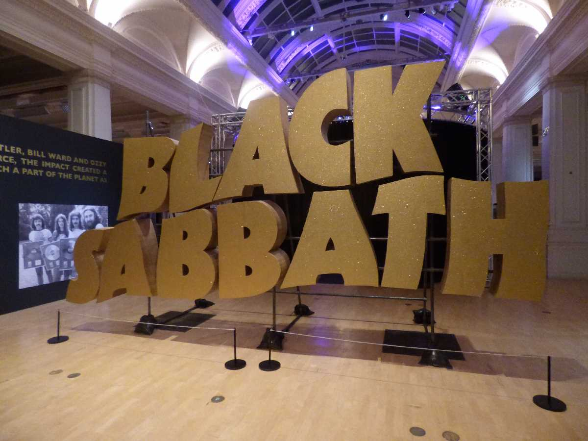 Home of Metal at Birmingham Museum & Art Gallery presents Black Sabbath 50 Years - Elliott went to visit